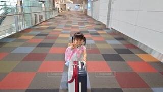 空港にての写真・画像素材[3881012]