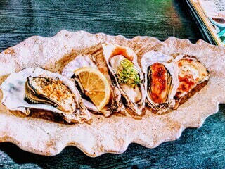 牡蠣料理の写真・画像素材[3885500]