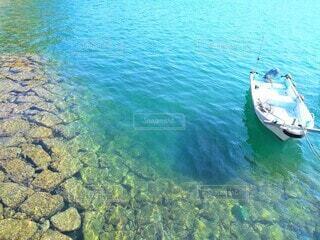 停泊中のボートの写真・画像素材[3885707]