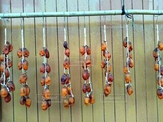干し柿の写真・画像素材[3903704]