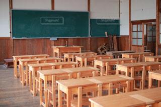 廃校の教室の写真・画像素材[4622549]