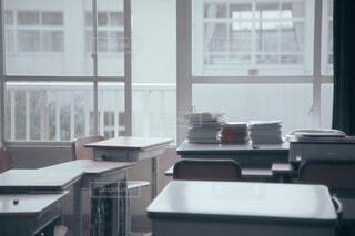 誰もいない教室の写真の写真・画像素材[3918500]