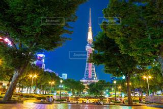 夜の都市の眺めの写真・画像素材[3923634]