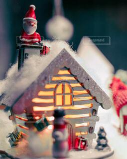 クリスマスの飾りのクローズアップの写真・画像素材[3940115]