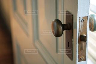 ドアのクローズアップの写真・画像素材[3985677]