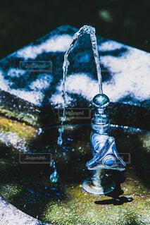 公園の水飲み場の写真・画像素材[3989925]
