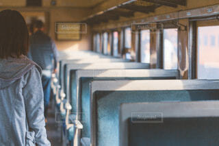 大井川鉄道の客車の写真・画像素材[4030387]