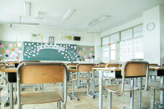 学校の教室の写真・画像素材[4631567]