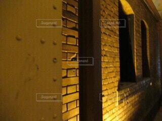 秋の赤レンガ倉庫の写真・画像素材[3910134]
