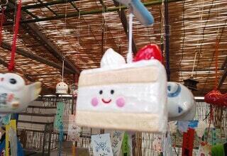 ケーキ風鈴の写真・画像素材[3929171]