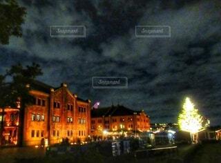 赤レンガ倉庫のクリスマスの写真・画像素材[3979931]