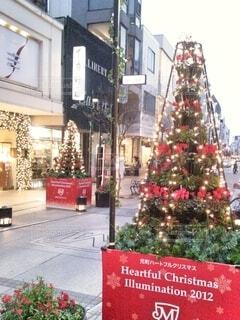 元町のクリスマスツリーの写真・画像素材[3991583]