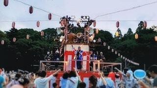 盆踊りの写真・画像素材[4278922]