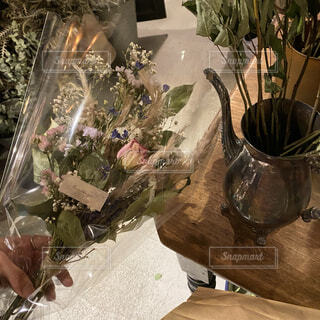 dry flowerの写真・画像素材[3933421]