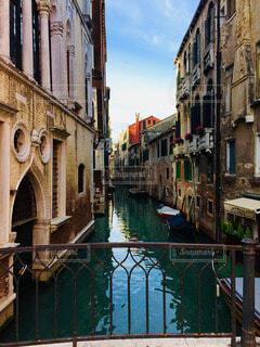 ヴェネツィアの細道の写真・画像素材[3901265]