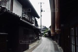 趣のある道の写真・画像素材[3918951]