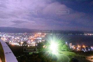 夜の都市の眺めの写真・画像素材[3918958]