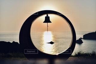 日の沈む時の写真・画像素材[3983397]