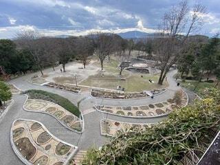 展望台から一部の植物園内の眺め。の写真・画像素材[4155409]
