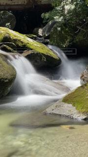 綺麗な滝川。の写真・画像素材[4526767]