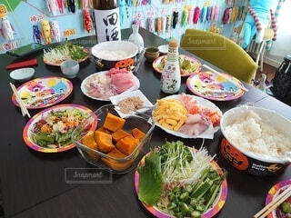 手巻き寿司でハロウィンパーティー!の写真・画像素材[3957386]
