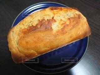 手作りバナナパウンドケーキに挑戦の写真・画像素材[4332346]