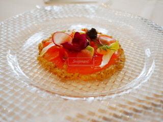 魚介のケーキの写真・画像素材[3902528]
