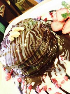 食べ物,スイーツ,ケーキ,パンケーキ,いちご,チョコレート,バレンタイン,チョコレートケーキ,CHOCOLATE,Valentine