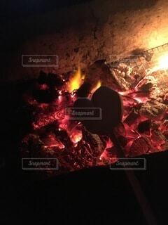 炎の写真・画像素材[3910678]