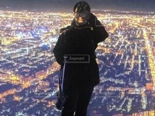夜景の写真・画像素材[3962649]