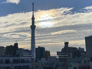 空の写真・画像素材[4009105]
