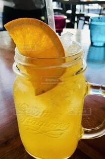 オレンジジュースの写真・画像素材[4722957]
