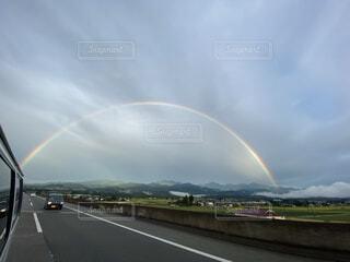 虹の入口の写真・画像素材[3913662]