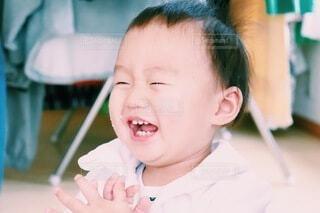 超笑顔!!!の写真・画像素材[4105019]