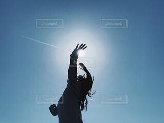命の太陽の写真・画像素材[4546142]