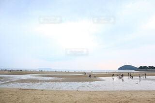日本のウユニ塩湖:父母ヶ浜の写真・画像素材[3922850]