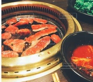 焼肉のアップの写真・画像素材[3958493]