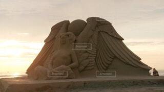 砂の巨人兵の写真・画像素材[3928067]