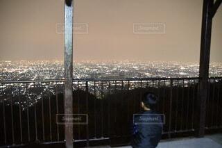 夜景を魅るの写真・画像素材[3967479]