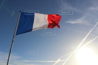 フランス国旗の写真・画像素材[3933170]