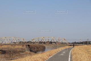 橋の見える風景の写真・画像素材[4173575]