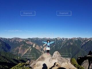 アルプスの山々の写真・画像素材[4111502]