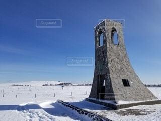 美ヶ原の雪景色の写真・画像素材[4151232]