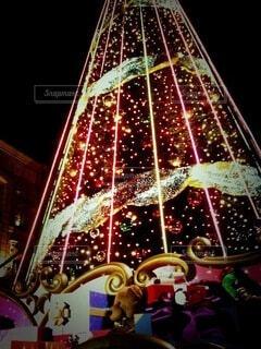 2011年のクリスマスツリーの写真・画像素材[3960057]