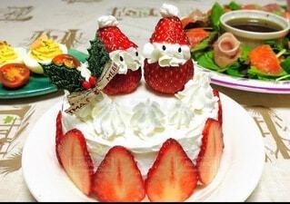 クリスマスケーキ2019の写真・画像素材[3981009]