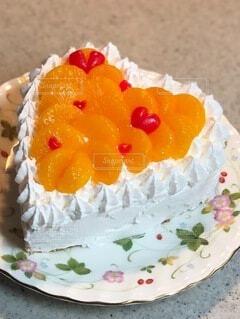 娘のバースデーケーキ2020の写真・画像素材[3981011]