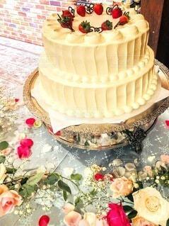 ウエディングケーキの写真・画像素材[3981012]
