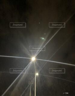 雪と光の遊びの写真・画像素材[4003817]