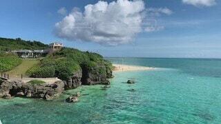 海,夏,晴れ,青,沖縄,ブルー