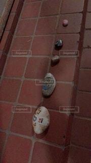 レンガの通りに並ぶワロックの写真・画像素材[3964720]